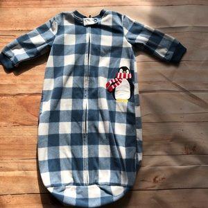 🍭6/$30 Carter's penguin sleep sack 0-9 months